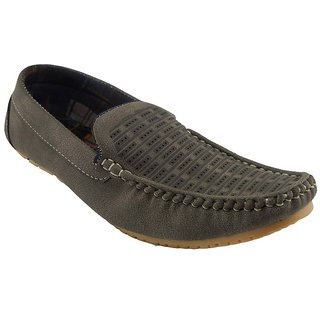 B3trendz Khaki Slip On Men's Loafers