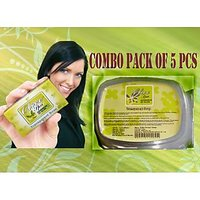 Olive Transparent Soap Combo Pack Of 5