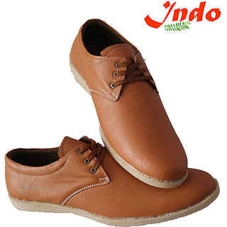 Indo Men's Brown Casual Shoes ( Premium Quality) - PRN0004NL