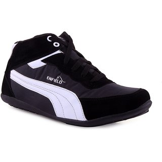 Shooz Men's Black & White Shoes