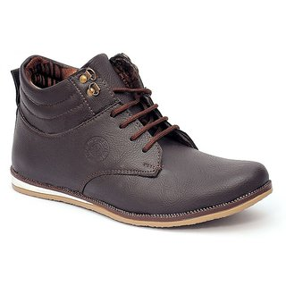 Shooz Men's Brown Casual Shoes