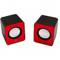 Tricom Multimedia Wired Mini USB Speaker 3.5 MM