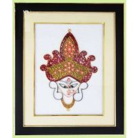 Quilled Frame Of Durga Maa