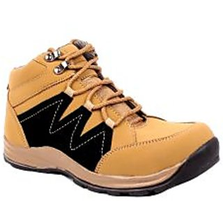 Shoe Island Tan Brown Casual Boots ADV1206-CHEEKU