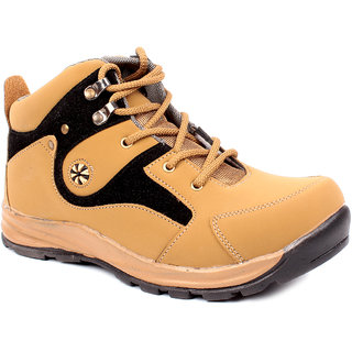 Shoe Island Tan Brown Casual Boots ADV1209-CHEEKU