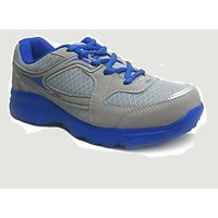Fast Trax Royal Blue And Grey Mens Sports Shoes