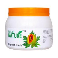 NICE NATURE PAPAYA FACE PACK (FAMILY PACK) 450GM