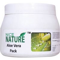 NICE NATURE ALOE VERA FACE PACK 450GM NET