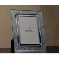 Silver Sparkle Photo Frame