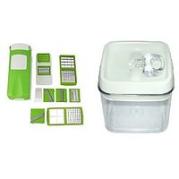 Zalak Chipser/Slicer AndGriter ( All In One) & Easy Lock Airtight Container 0.8L