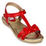 2B Collection Kids Girls Smart Casual SandalGirls-Sandal-401-Red