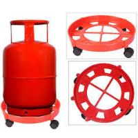 Gas Cylinder Trolley With Wheels Unbreakable