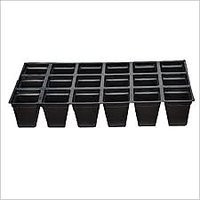 Seedling Tray Square 42 Cells (Pack Of 12)