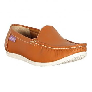 Zezile Men's Tan Synthetic Casual Loafer MSH0017-TAN