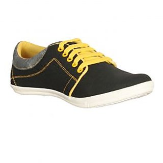 Zezile Men's Black Casual Shoes