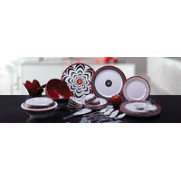 Ektra Superware Bidri 32 Pcs. Design Dinner Set