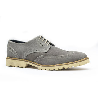 Famozi Men Leather Blue Loafers