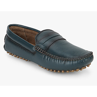 Famozi Men Leather Brown Loafers