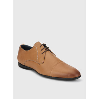 Famozi Men Leather Brown Formal  Shoes - 81342348