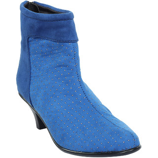 Women's Blue Stylish Boots