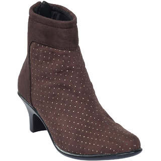 Women's Brown Stylish Boots