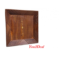 Wooden Handicraft Serving Tray Square Gift Item WHTS00016