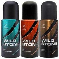 Wild Stone Hydra Energy Night Rider Hunt Pack Of 3 Deodorants