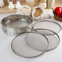 Sieve / Flour Sieve - Stainless Steel - Matte Finish - Kitchen Essentials R - 81477918
