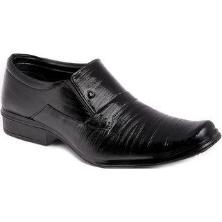 Azazo Men Black Slip On Formal Shoe - 81667252