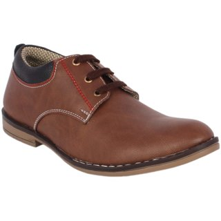 I'msparky  Men's Brown Casual Shoes
