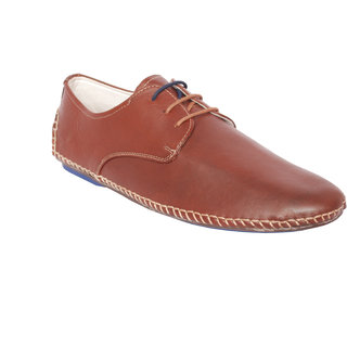 Styfort Men's Brown Casual Shoe