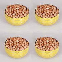 King International - Stainless Steel Yellow Designer Bowl/Katoris Set Of 4 Pcs