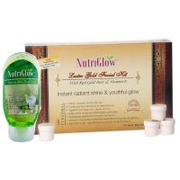 Nutriglow Luster Gold Facial Kit  With Free NutriGlow Face Wash