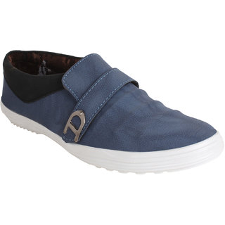 I-Sports Dulux-white Blue Canvas Shoes