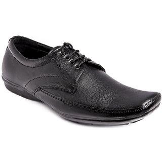 AZAZO Men Black Lace Up Formal Shoes - 81987088