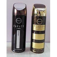 Combo Of ARMAF Deodorants (Deo) For Men SHADE WOOD + PARTY 200 Ml Each
