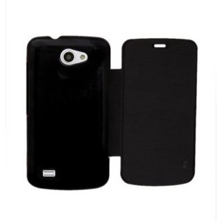 Ddf Black Flip Cover For Gionee Pioneer P3 Ddffc79 available at ShopClues for Rs.222