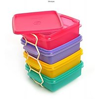 Tupperware Small Goody Box With Carolier (500Ml)(4Pcs)