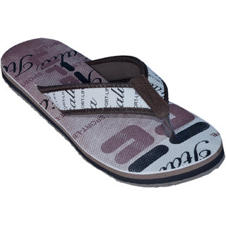 Altek Light Weight Brown Flip Flops (altek_FL_Life_Brn)