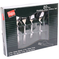 Shapes Hammer Cutlery Set With Serving Spoon 20 Pcs.
