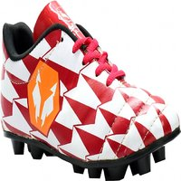 Lycan Safari Football Shoes ( Red & White )