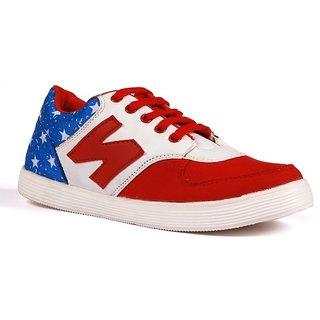 Shooz Men's Red Casual Shoes