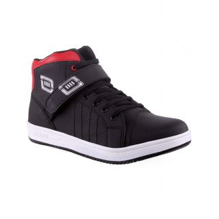 Aadi Black And Red Maching Casual Shoe