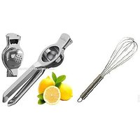 Rasoi Combo Of Lemon Juicer With Whisk