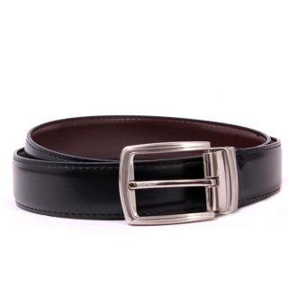 Reversible Wrinkle Free Belt Black n Brown