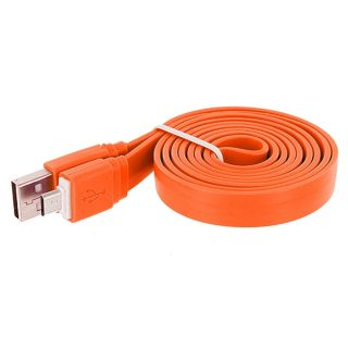 Novel Flat Micro USB Data Cable Transfer/ Charging Cable (Pack of 2) Combo