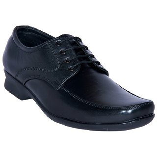 Jackboot Leather Lace Up Derby Shoes