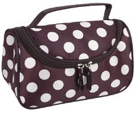 Dual Zipper Cosmetic Bag Toiletry Bag Make-up Bag Hand Case Bag