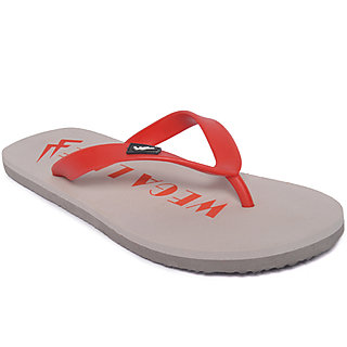 Wega Life JOY Grey/Red  Flip-flops