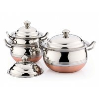 Klassic Vimal 3Pcs Xperia Copper Silver Touch Dish